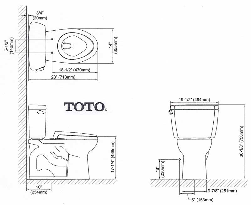 Where to measure rough in for corner toilet terry for Rough in plumbing for toilet