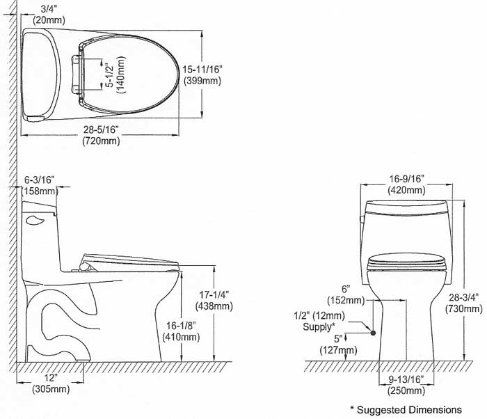 TOTO Ultramax II MS604114CEFG Toilet Reviews Pictures Page 4 Terry